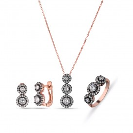 Diamond Model Filtering Silver Set