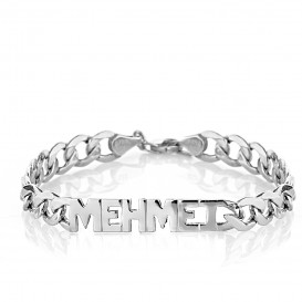 Classic Named Silver Bracelet