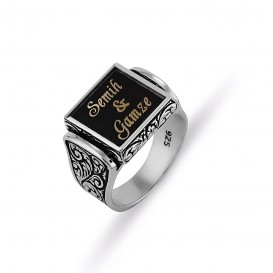 Named Handi handied Men's Ring