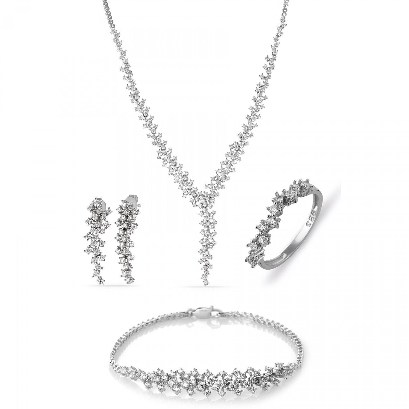 Diamond Model Waterway Silver Set MYS0060 | mysilvers