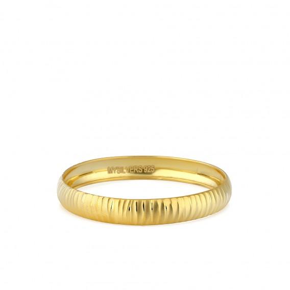 Mikron Altın Kaplama Bilezik