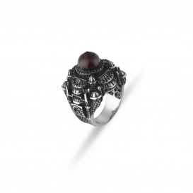 Sultan Ahmet Mosque Design Men's Ring