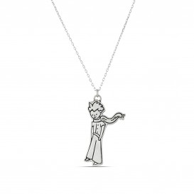 Little Prince Silver Necklace