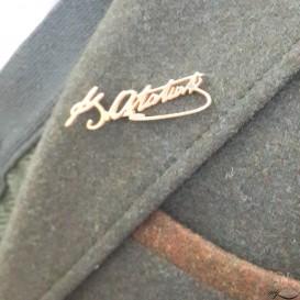 Kemal Atatürk Signed Badge