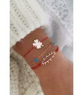 Silver Luck Bracelet Combination