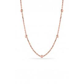 55cm Gümüş Top Zincir
