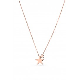 Minimal Star Silver Necklace