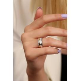 Gümüş 8 mm Kadın Alyans