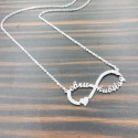 Named Infinity Necklace
