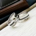 İsimli Gümüş Alyans