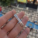 Göktürk Alfabeli İsimli Gümüş Bileklik