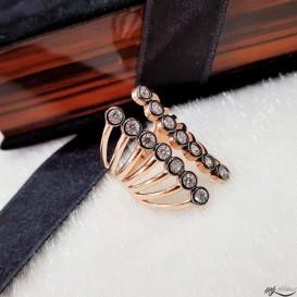 Elmas Modeli Tasarım Gümüş Yüzük