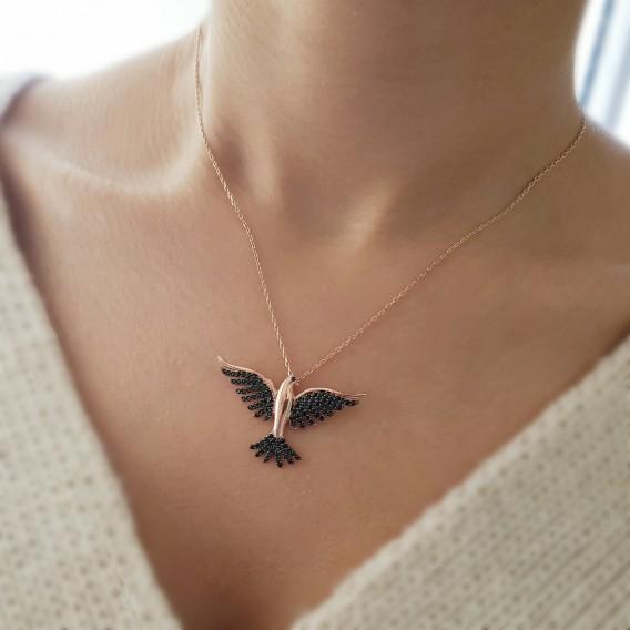 Güvercin Gümüş Kolye
