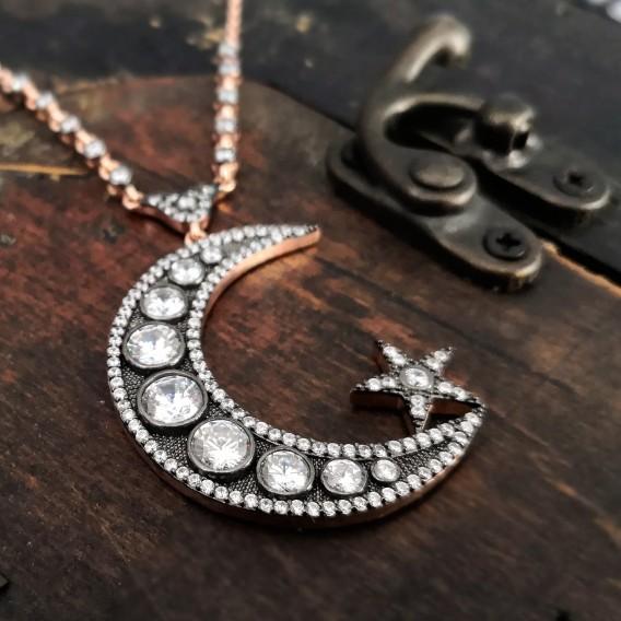 Elmas Modeli Tasarım Gümüş