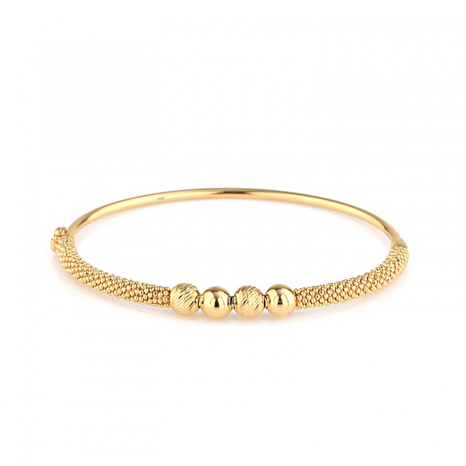 Micron Gold Plated Bracelet