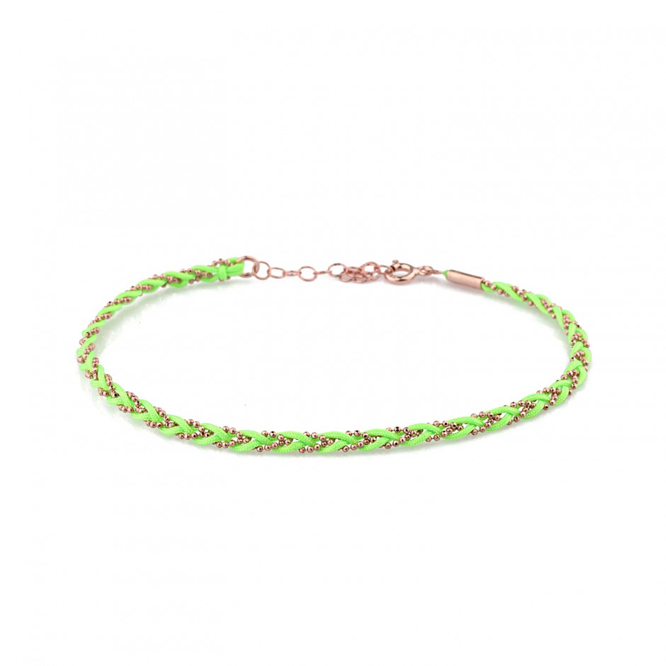 Green Knitted Silver Halhal