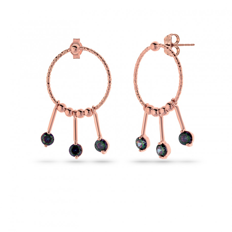 Mystical Topaz Stone Earrings