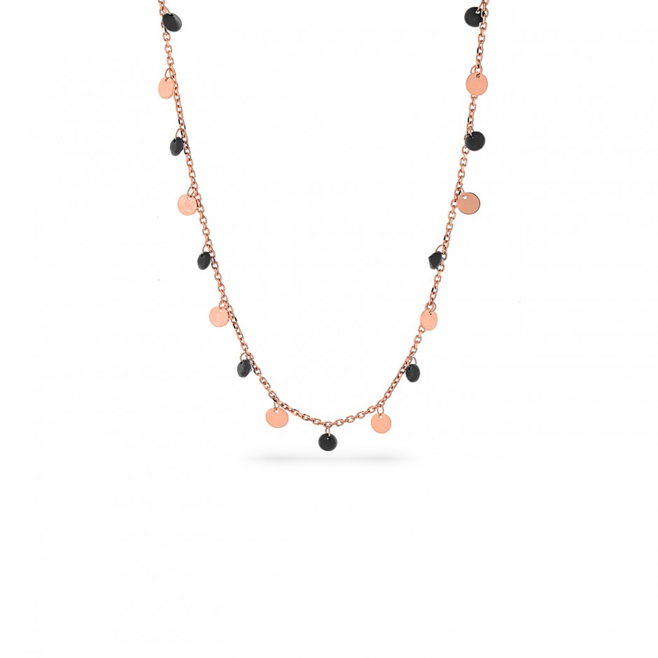 Onyx Stone Scaly Necklace