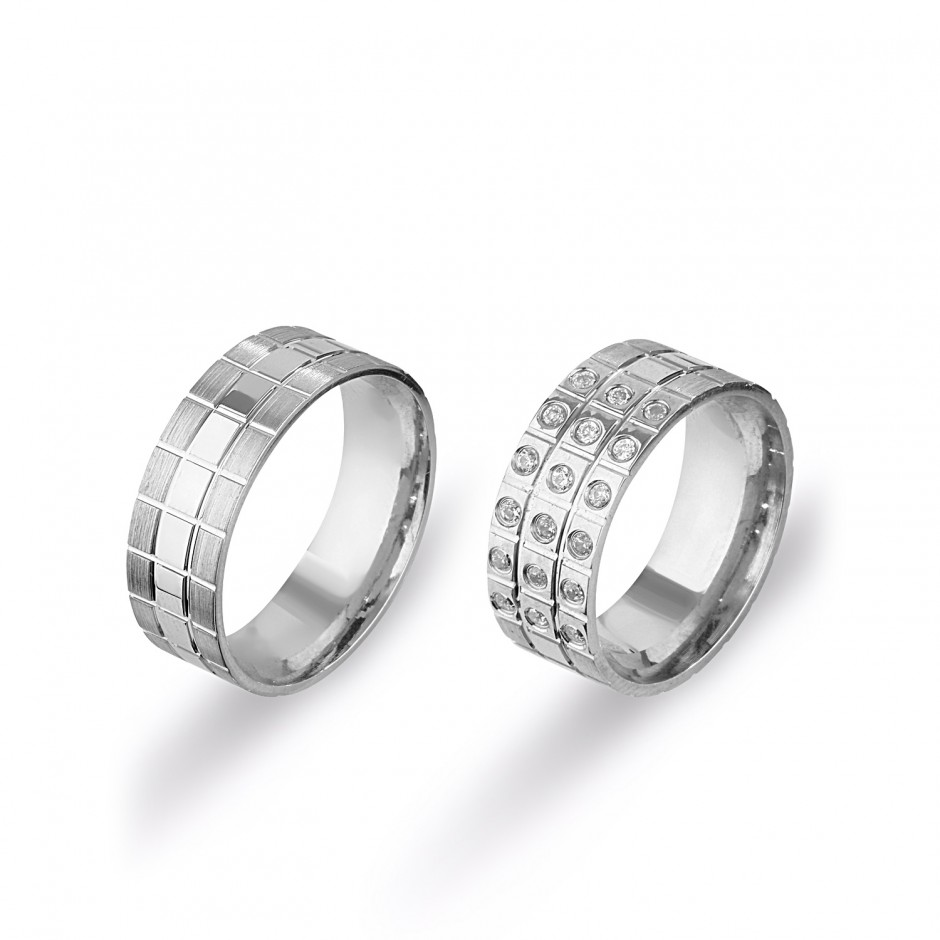 Design Silver Wedding Ring
