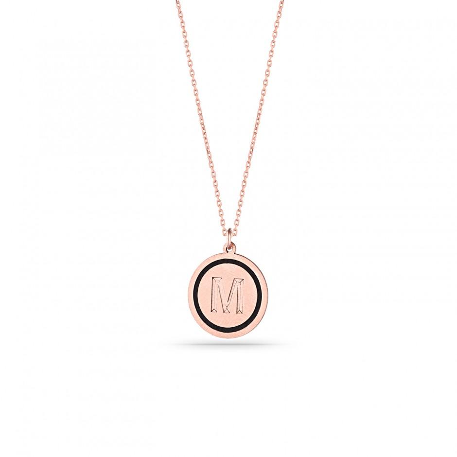 Mini Letter Silver Necklace