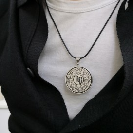 Lettered Circle of Life Necklace