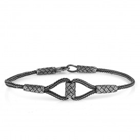 Cylinder Knitted Kazaziye Bracelet