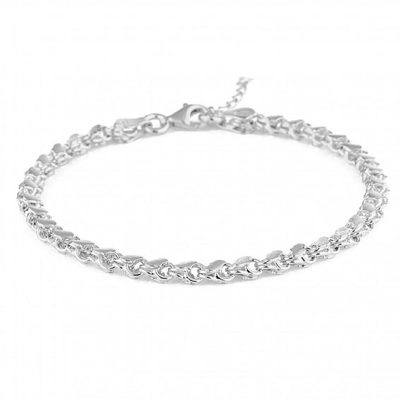 Klasik Pullu Gümüş Bileklik