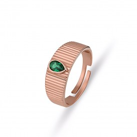 Drop Jade Ring