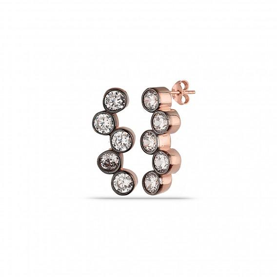 Elmas Modeli Asimetrik Gümüş Set