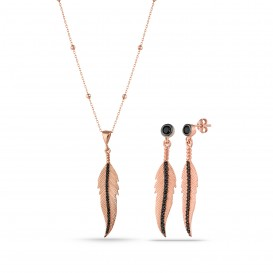 Onix Stone Feather Set