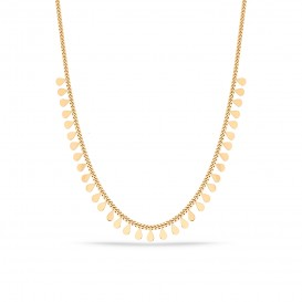 Drop Scaly Necklace