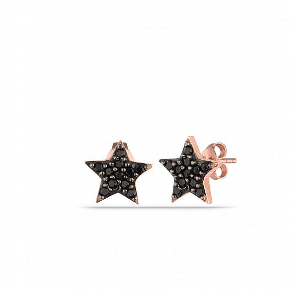 Minimal Onix Yıldız Küpe