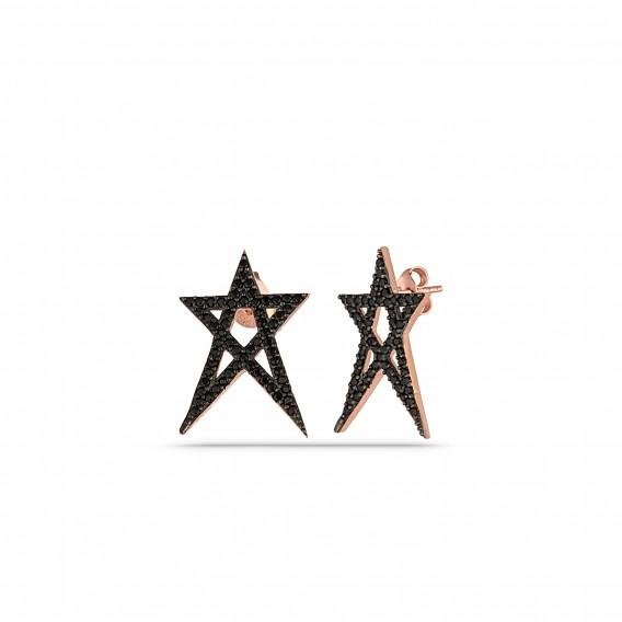 Onix Yıldız Küpe