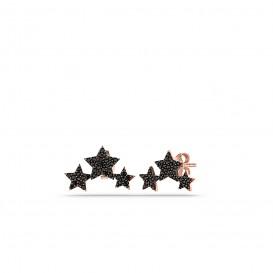Onix Süzme Yıldız Küpe