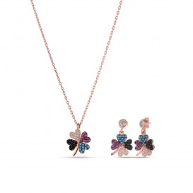 Colorful Stone Clover Set